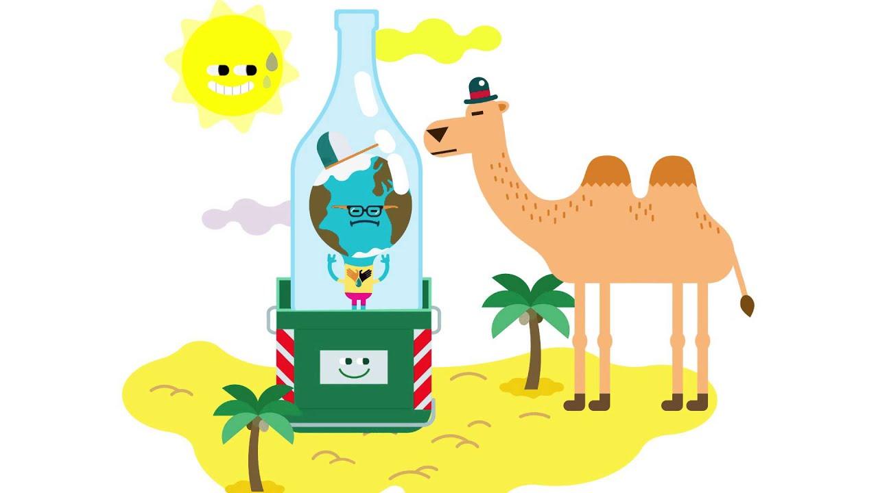 Cartoon on Recycling - YouTube