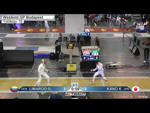 2018 112 T16 03 M E Individual Budapest HUN GP YELLOW KANO JPN vs LIMARDO GASCON VEN