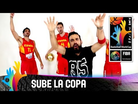 Huecco  sube la copa  official video clip  2014 fiba basketball world cup