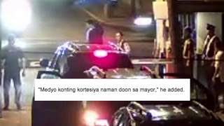 Ganito Kami sa Makati - close-up of CCTV footage of Binay's Banyan gate scandal