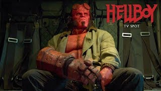 "Hellboy (2019 Movie) Official TV Spot ""Never Fear"" – David Harbour, Milla Jovovich, Ian McShane"
