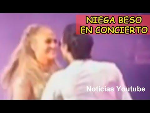 Jennifer López Niega Beso a Marc Anthony en Concierto!!!