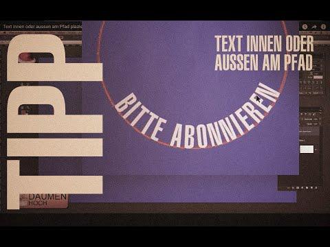 Text Innen Oder Aussen Am Pfad Plazieren (1080p@60fps)