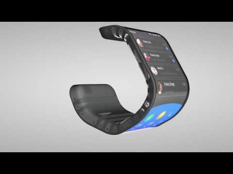 Lenovo начнет производить гнущиеся смартфон и планшет.