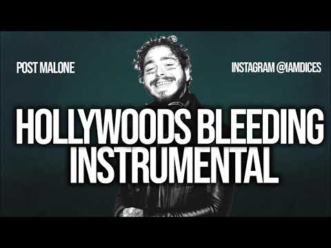 """Post Malone """"Hollywoods Bleeding"""" Instrumental Prod. by Dices *FREE DL* Mp3"""