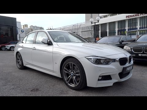 2017 BMW 330e iPerformance M Sport Start-Up and Full Vehicle Tour