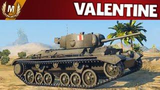 World of Tanks - E38 Ace Tanker Valentine New UK TD Line