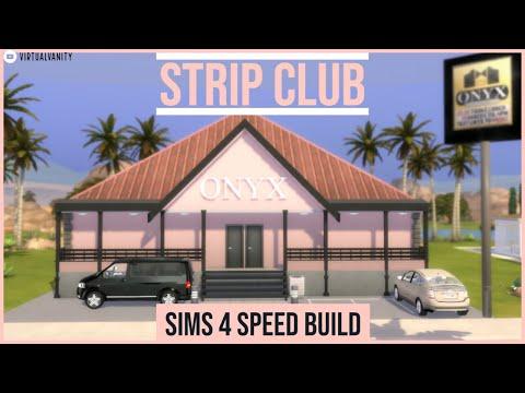 Sims 4 Speed Build: STRIP CLUB :Onyx