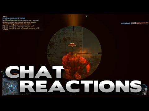 Battlefield 4 In-Game Chat Reactions 12