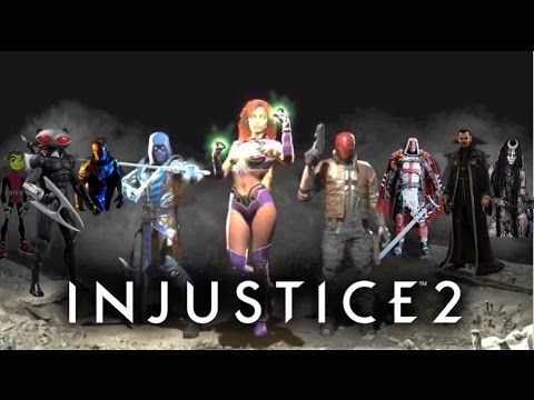 Injustice 2 DLC Predictions! (Fighter Pack 1-3)  