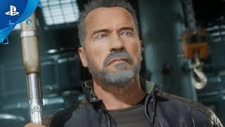Mortal Kombat 11 | Terminator T-800 Gameplay Trailer | PS4