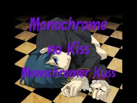 Kuroshitsuji Opening - Monochrome no Kiss ~ Karaoke + Lyrics + Ger Sub