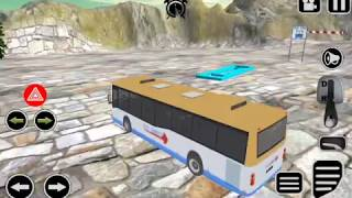 Real Tourist Bus: Hill Driving 3D games 2018 Android Gameplay