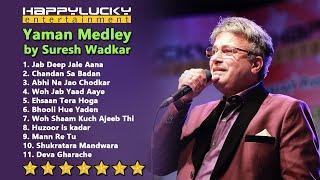 Yaman Medley by Suresh Wadkar Live HappyLucky Entertainment