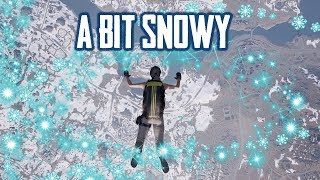 New PUBG Snow Map - Initial Thoughts and Gameplay (Playerunknown's Battlegrounds)
