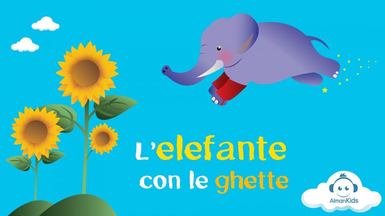 L Elefante Con Le Ghette La Brigata Canterina Youtube
