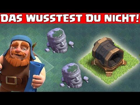 Bauarbeiterbasis - 5 DINGE...DIE DU NOCH NICHT WUSSTEST! || Clash of Clans