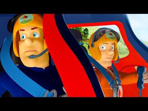 Brandweerman Sam Nederlands | BESTE  lucht Reddingen | Nieuwe Afleveringen