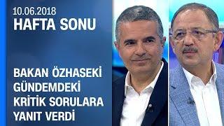 Bakan Mehmet Özhaseki gündemdeki kritik sorulara yanıt verdi - Hafta Sonu 10.06.2018 Pazar