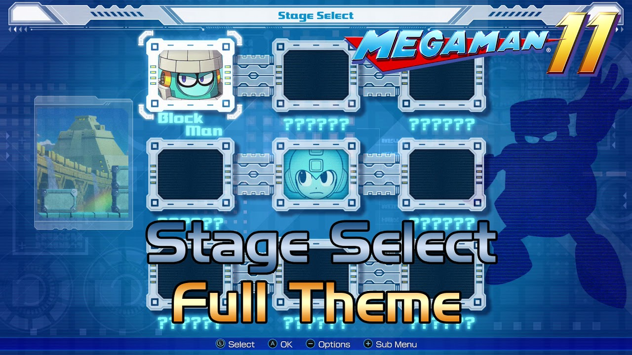 Mega Man 11 OST - Stage Select Music [Full Theme] (Extended)