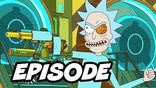 Rick and Morty Season 3 Live Episode