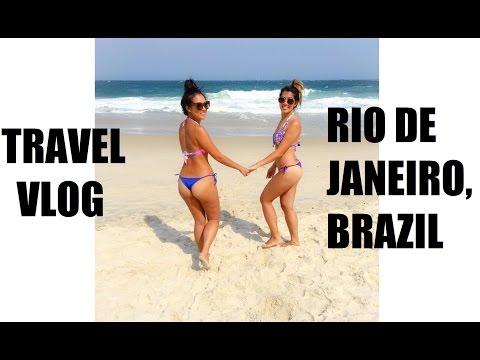 TRAVEL VLOG: Rio de Janeiro, Brazil!