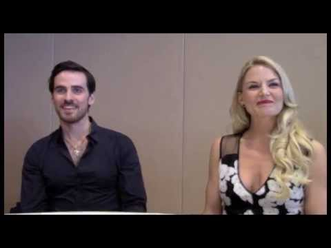 Once Upon a Time Colin O'Donoghue and Jennifer Morrison Interview