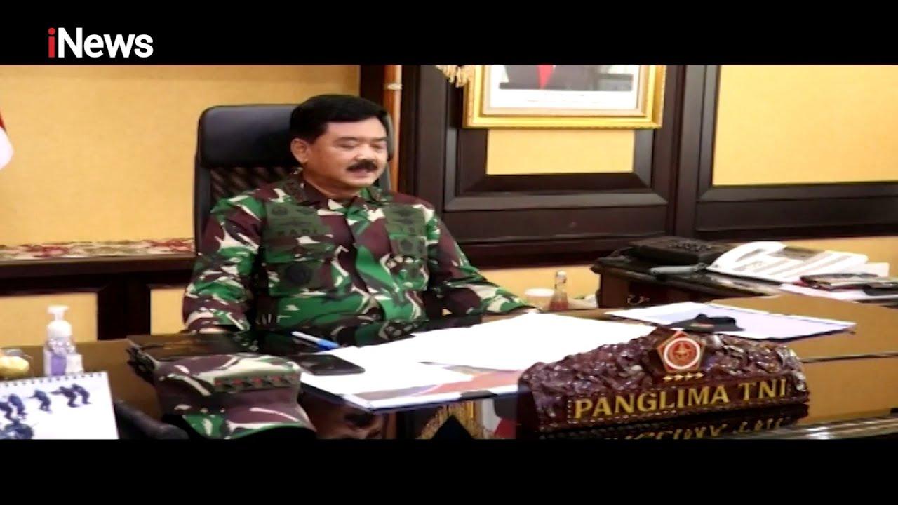 Panglima TNI Gelar Rapat Virtual Bahas Intruksi Presiden - iNews Sore 09/08