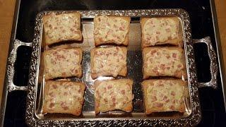 Flammkuchen mal als Flammkuchen Toast