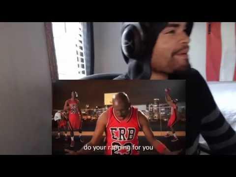 Michael Jordan vs Muhammad Ali. Epic Rap Battles of History Season 3. REACTION!!!