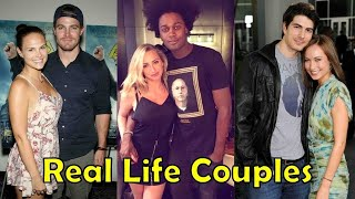 Real Life Couples of Arrow