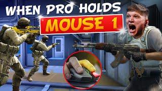 WHEN CS:GO PROS HOLD MOUSE 1! (INSANE SPRAYDOWNS)