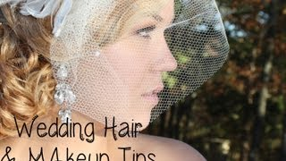 Bridal Hair & Makeup TIPS for Your Wedding!