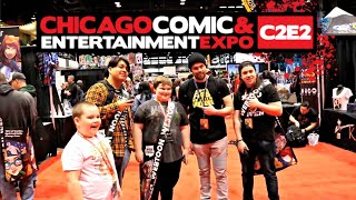 TOY HUNTING AT C2E2 2018 WITH CINCY NERD, ESOS HUNTERS (SAL), FOXXY AND TOYBILLS!