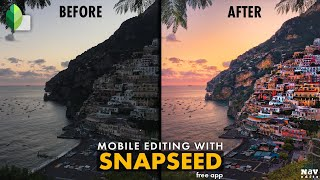 POP the IMAGE with COLOR CONTRAST in SNAPSEED | SNAPSEED TUTORIAL | Android | iPhone