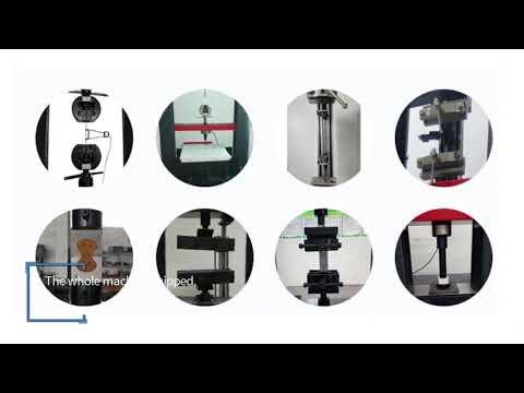 PT-1100-600 Electro-hydraulic Servo Universal Material Testing Machine (new)