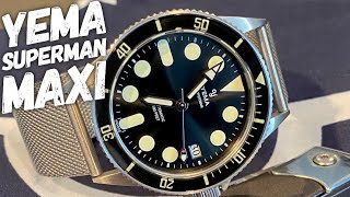 YEMA Superman II Maxi Dial Review - Good...but not Great