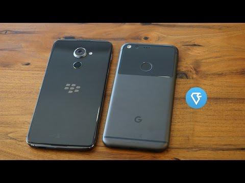Hands on BlackBerry DTEK60 vs Google Pixel