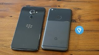 Hands on BlackBerry DTEK60 vs Google Pixel