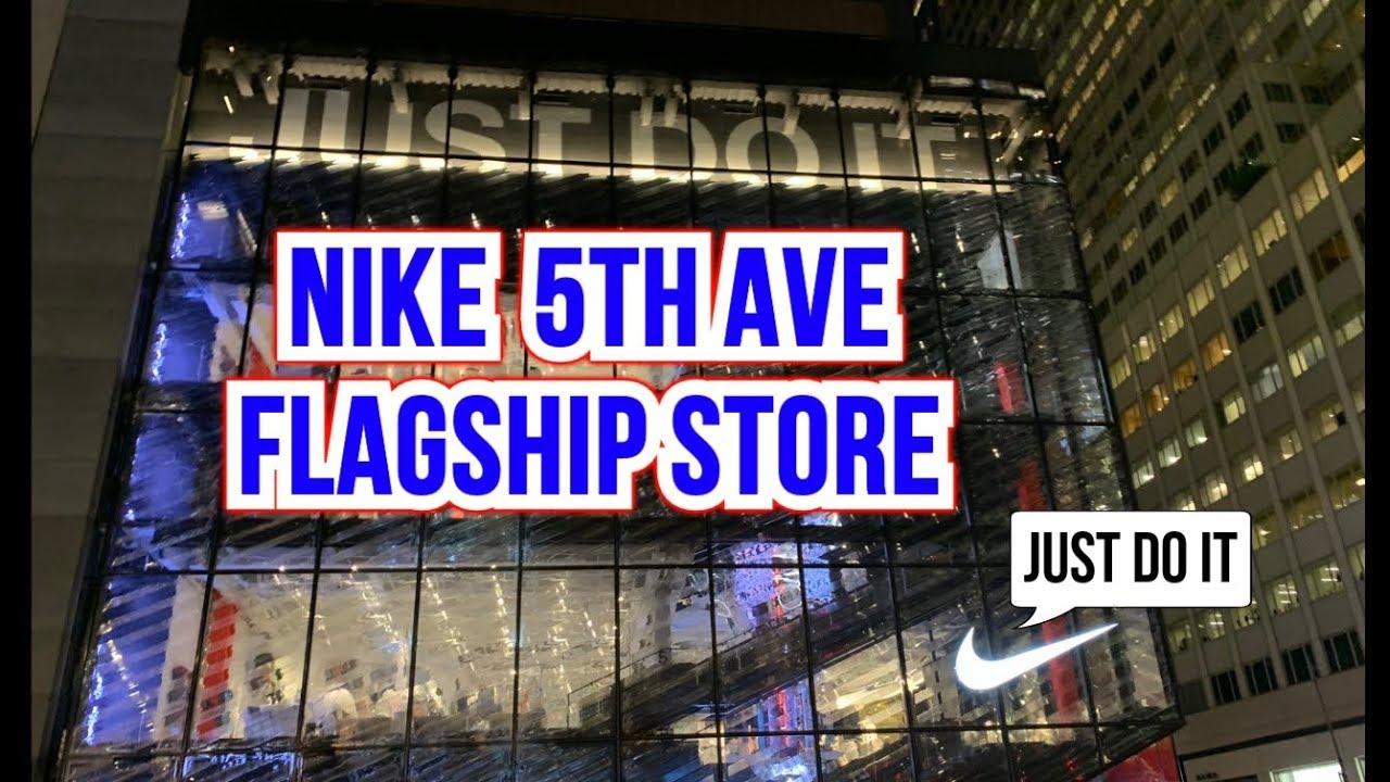 Orden alfabetico Parpadeo Con fecha de  NIKE 5th AVE FLAGSHIP STORE - NEW YORK CITY - YouTube