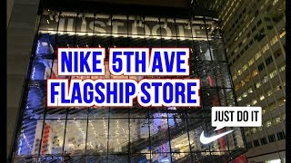 NIKE 5th AVE FLAGSHIP STORE - NEW YORK CITY