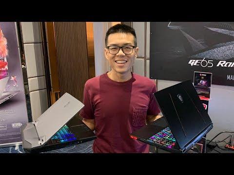 Preview - MSI GT76 โคตร Gaming ยัด i9-9900K + RTX 2080 / MSI GE65 หรูหราแรงเหลือๆ