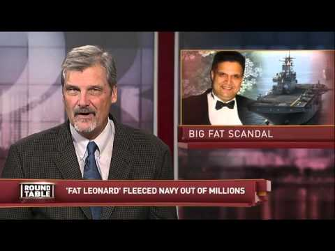 Roundtable: Water Rates, Navy Bribery Scandal, Lawsuit