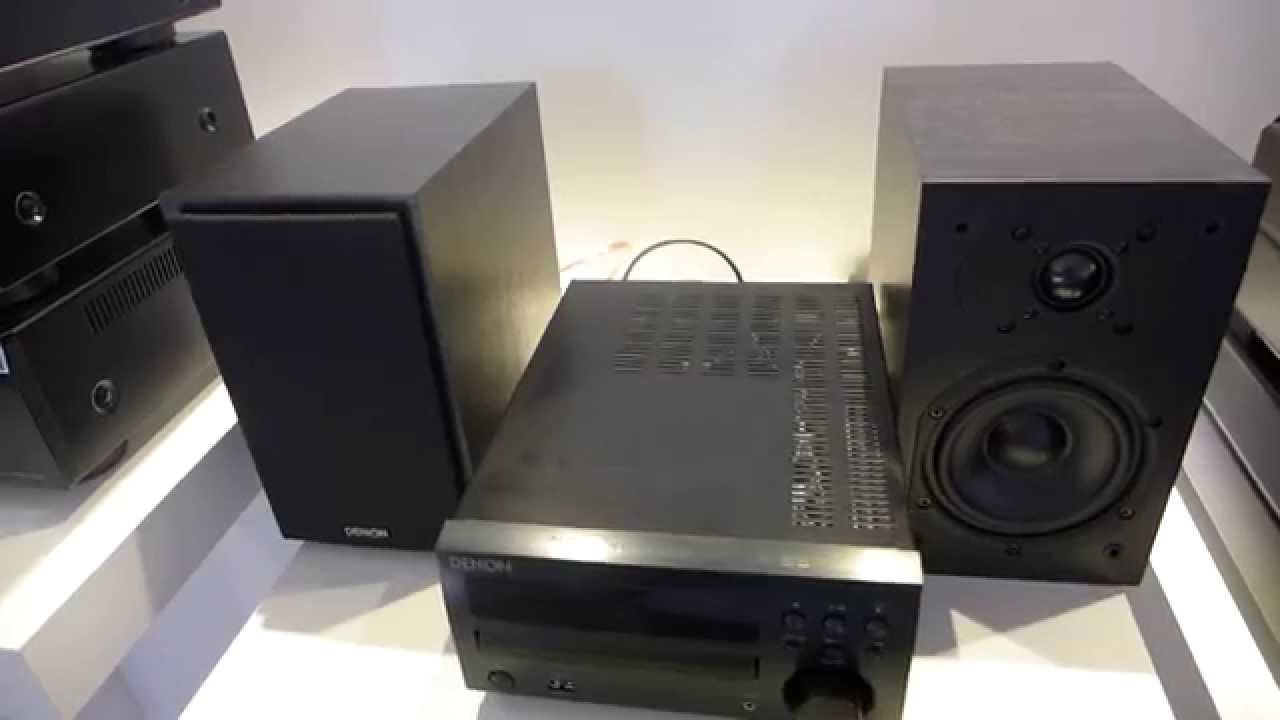 Denon Dm 40 Micro Cadena Youtube