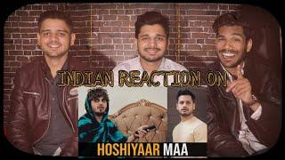 Indian Reaction On Hoshiyaar Maa | Karachi VYNZ | M Bros Reaction | M Bros India
