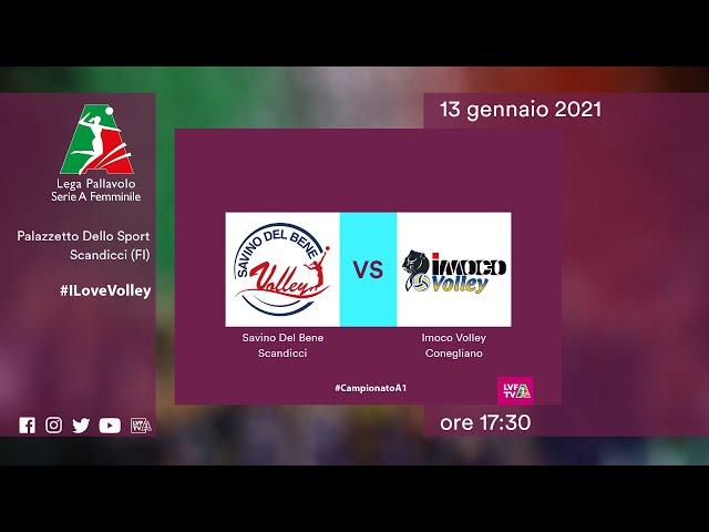 Scandicci - Conegliano | Speciale | 16^Giornata Campionato | Lega Volley Femminile 2020/21