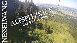 Der Alpspitzkick bei Nesselwang Zipline