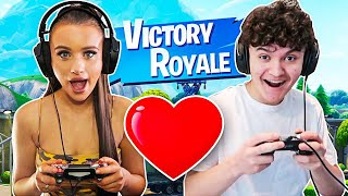 I Caught my Little Sister & Jarvis on a FORTNITE DATE!!