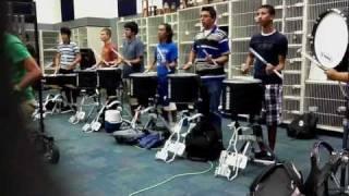 R.L. Turner Drumline Warm-Ups