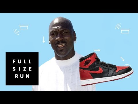 Michael Jordan's Banned Sneakers Might Be a Myth | Full Size Run